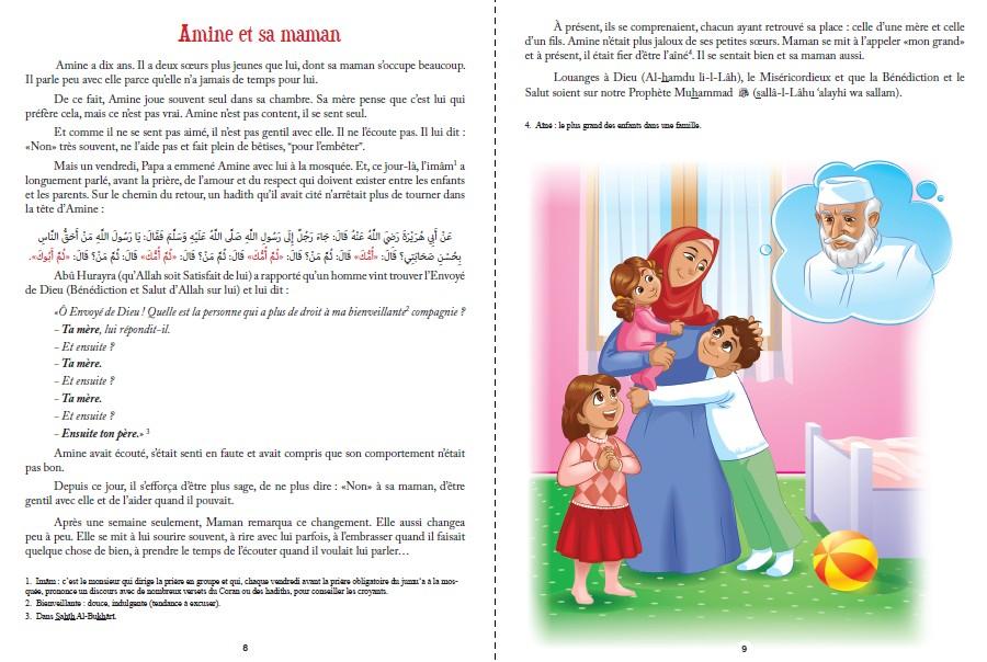 40 hadiths 40 histoires pour enfants nahla boutik. Black Bedroom Furniture Sets. Home Design Ideas